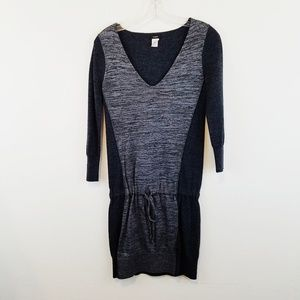 J. Crew Drop Waist Dress Wool XS #W235